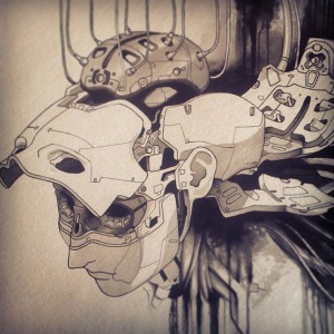ghost_in_the_shell_fan_art_painting_by_uken-d6dn7p2