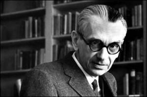 Kurt Gödel, Avusturyalı-Amerikan mantıkçı, matematikçi ve matematik felsefecisi.