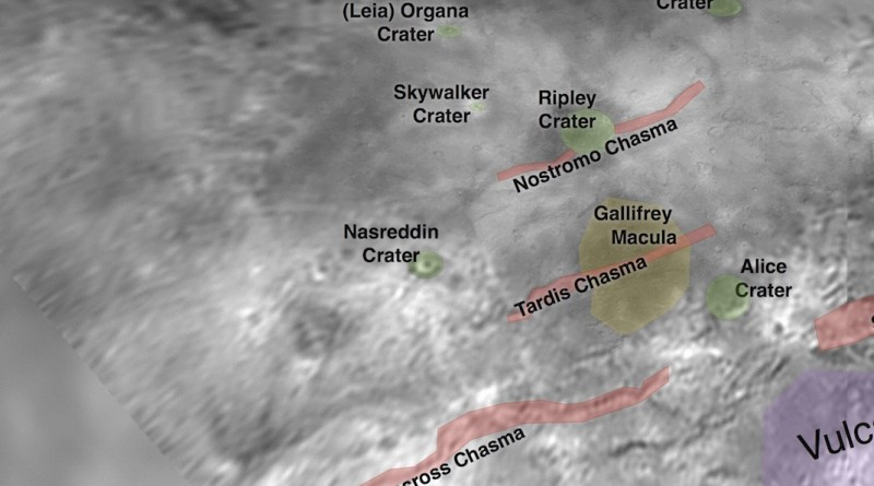Nasreddin Hoca Pluton'un Uydusu Charon'un Tam Ortasında!